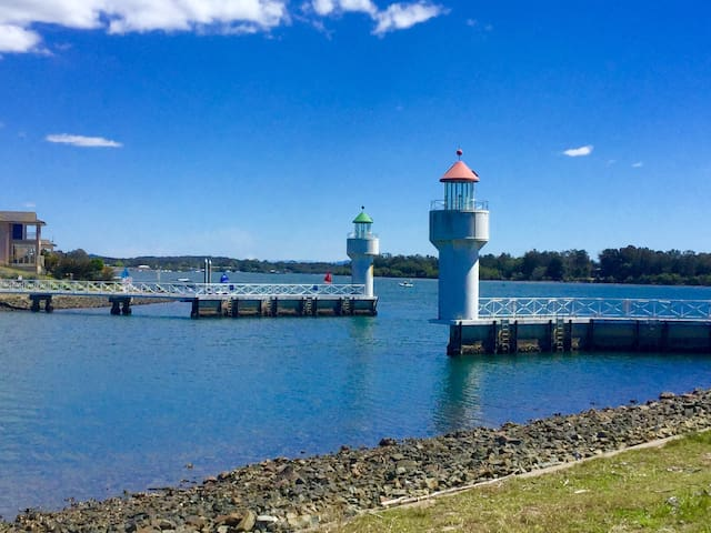 Port Macquarie Water Canals - Port Macquarie - Haus