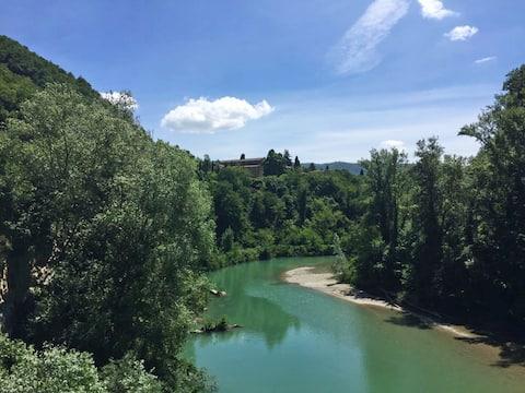 Vaše udobno seosko utočište u blizini Bolonje
