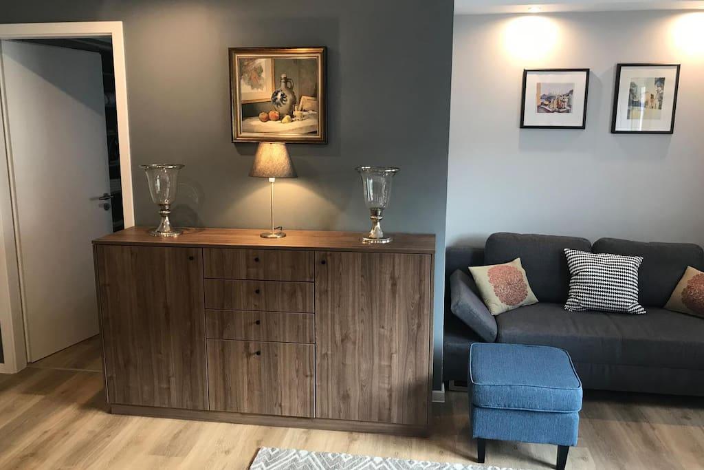 Stauraum / Sideboard im Wohnzimmer