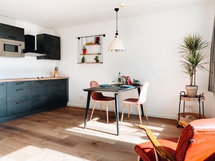 LORENZ 54: Studio-Apt mit Küche im Zentrum 29qm