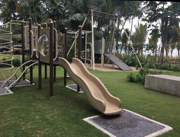 Apartment playground area