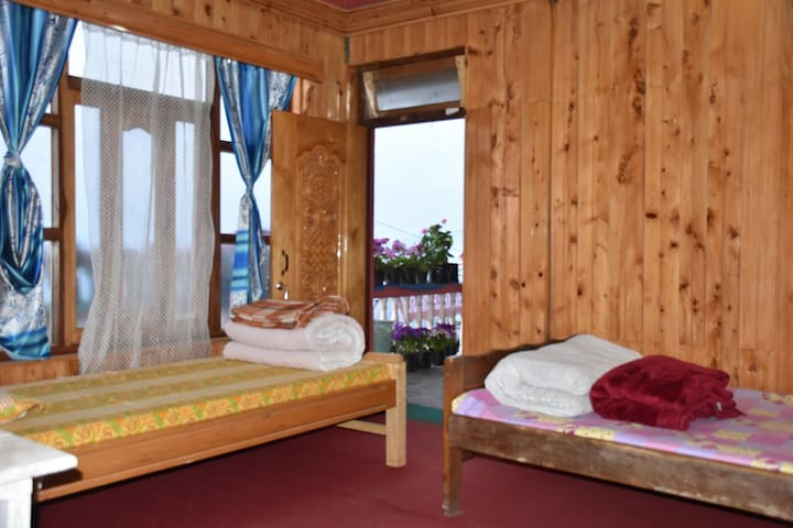 Five Bedded Room leading to Balcony