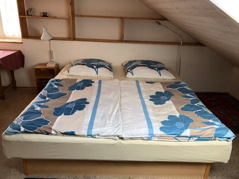 Großes Doppelbettzimmer Nahe der Schweizer Grenze