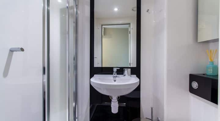 Sophisticated Silver Ensuite