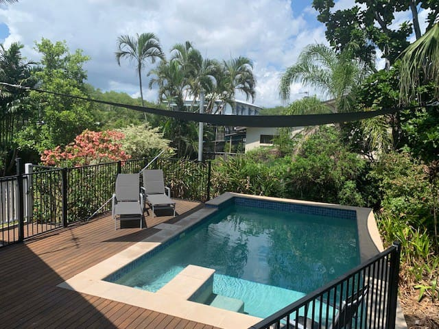 Self Contained Accommodation in Tropical Surrounds