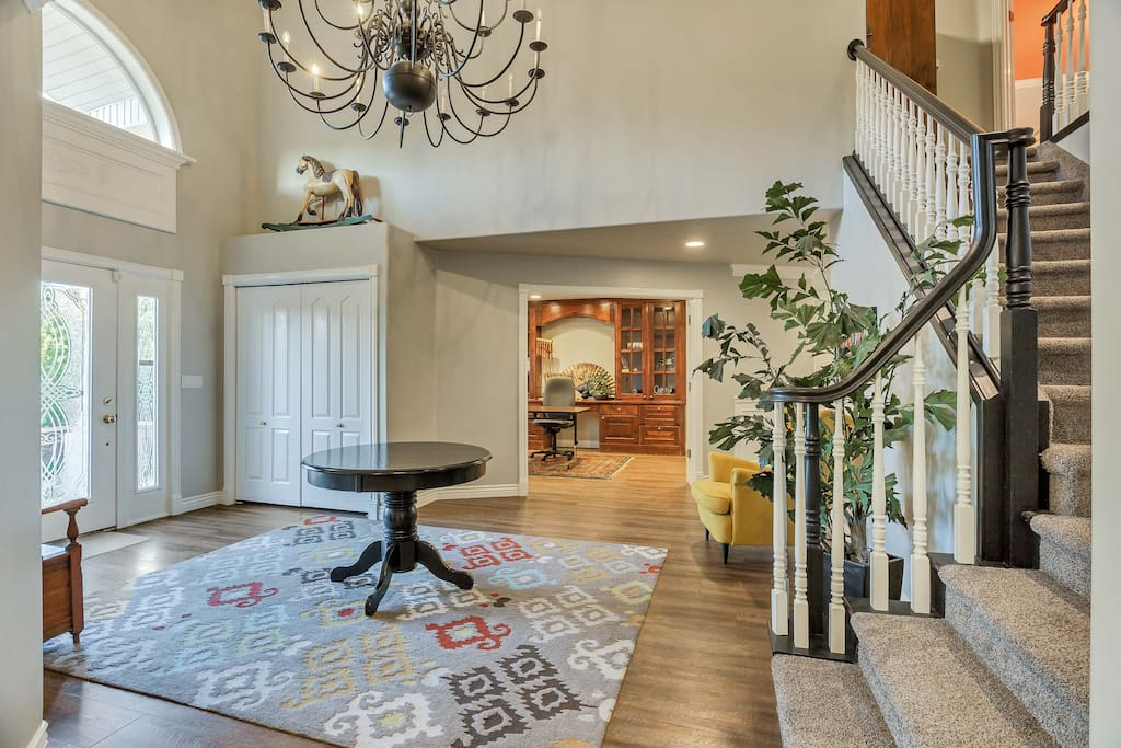 Grand Entry  Welcomes You to Your Home Away from Home!