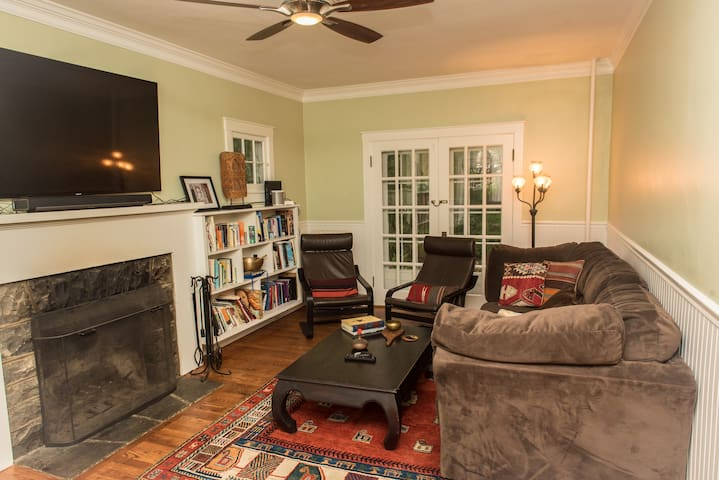 Cozy historic charmer – 6 blk walk to stadium/BJC