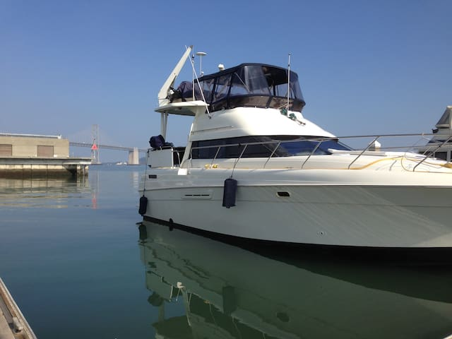Yacht Jacklondon Sq. 5 min wlk  ferry ride to SF ! - Oakland - Boat