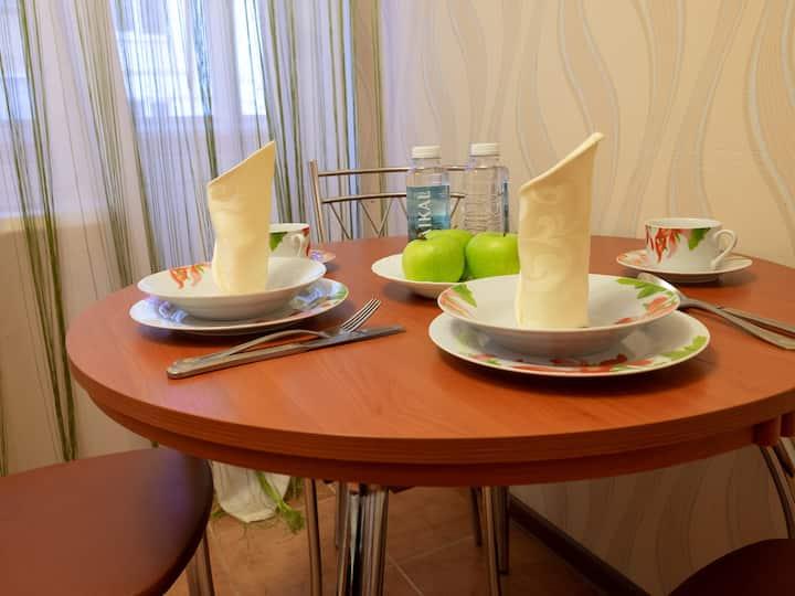 Апартаменты для семейного комфорта в ГорРоще