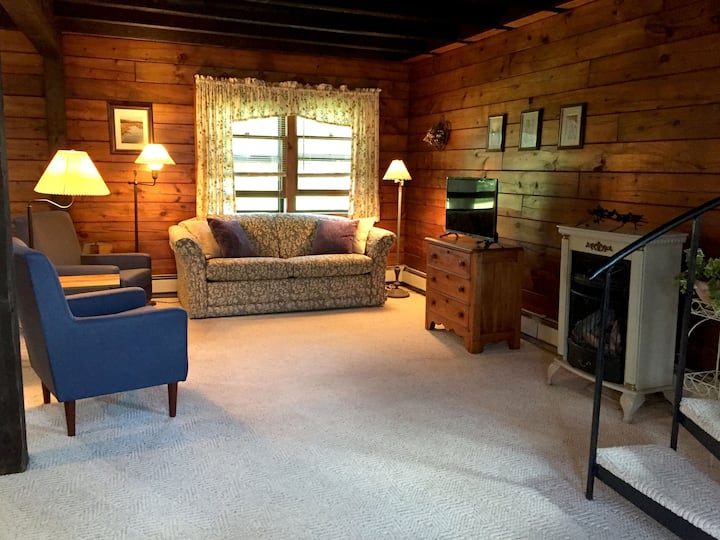 Log Cabin Apartment Great for Outdoor Enthusiasts