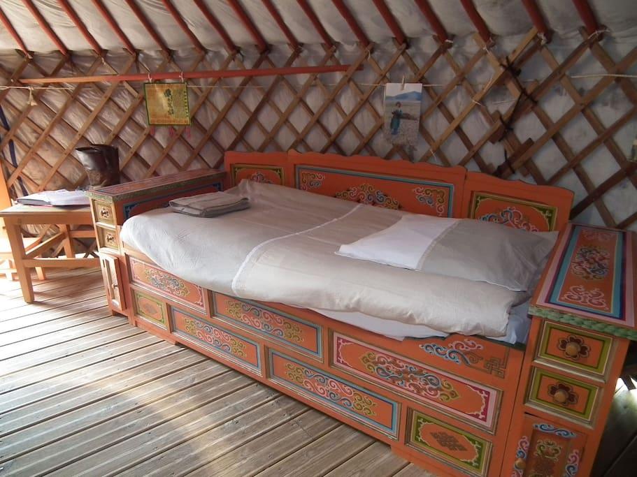 Deuxième lit
