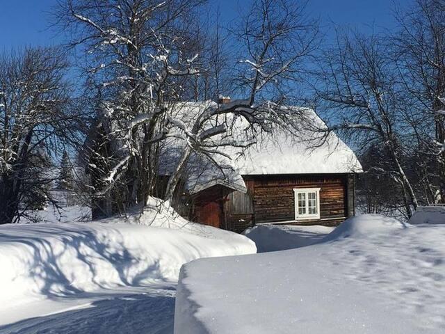 7-bädds Stuga på bongård mellan Bydalen och Hallen