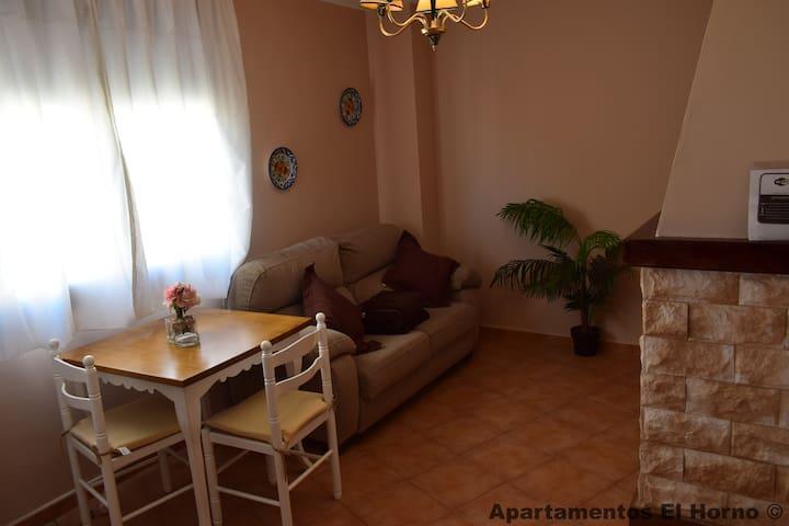 Apartamentos El Horno 3D