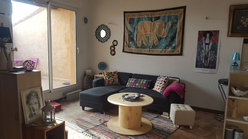 Appartement avec chambre privative