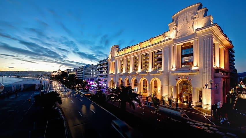 Le Palais de Med - Studio (Promenade des Anglais)