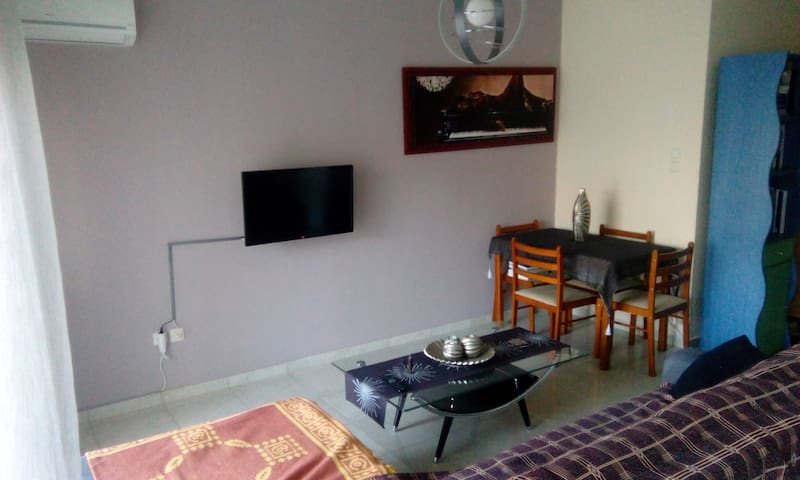 Centrally located! Nice, comfortable & quiet room!