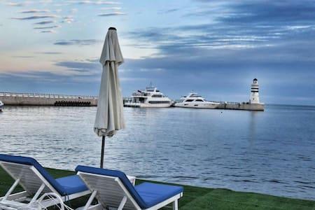 山海同湾、地中海式休闲度假、可观海公寓 - Huludao Shi