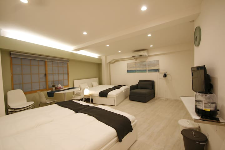 201★5Beds 3min Shinjuku1min Metro ▶POCKET WIFI 42㎡