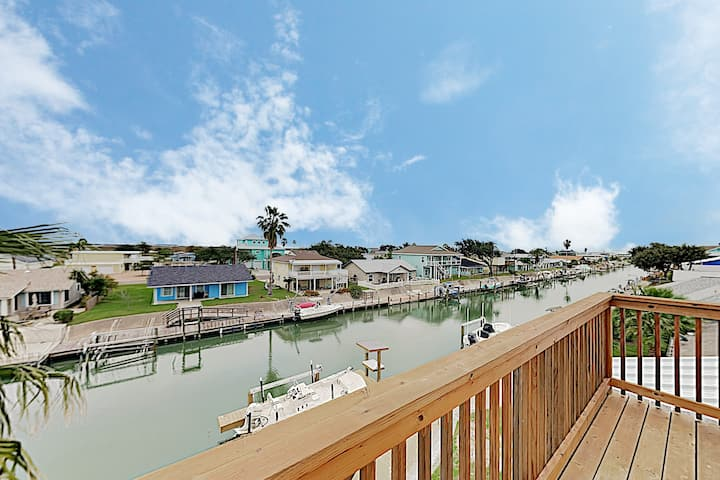New Listing! Brand-New Canal-Side Home w/ Deck