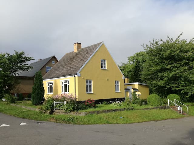Fishermans house in Tejn, built in 1938