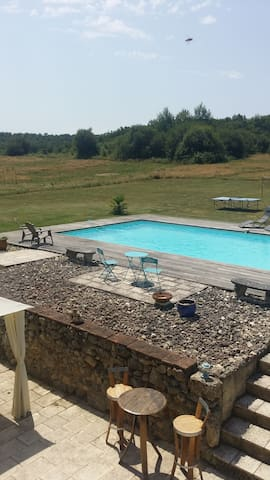 Farmhouse with pool. Unforgettable. - Moncrabeau