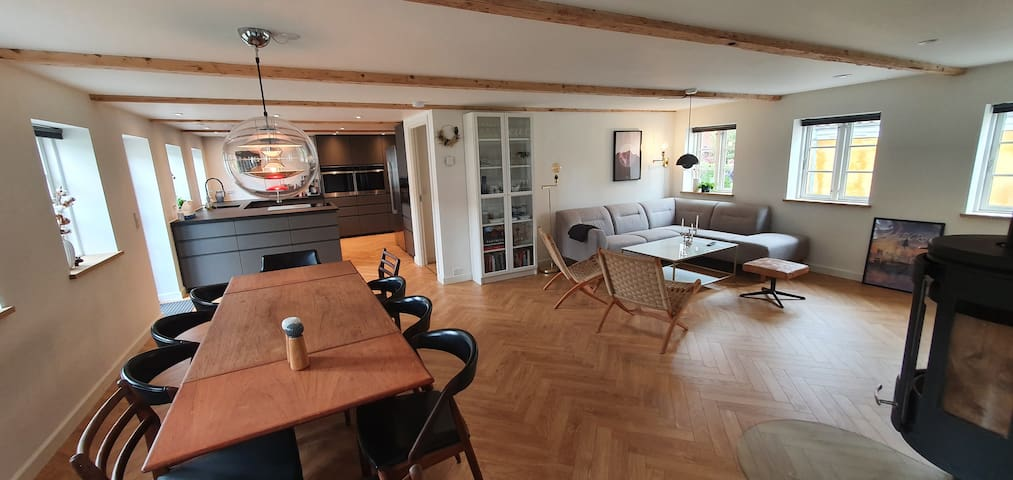 Newly renovated house close to Aalborg