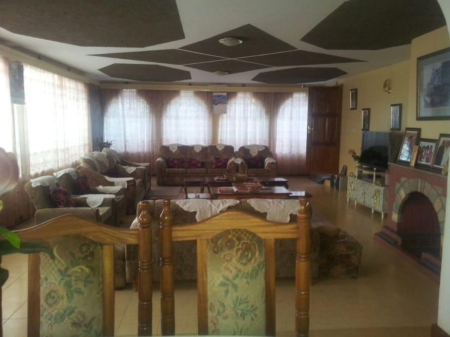large sitting room