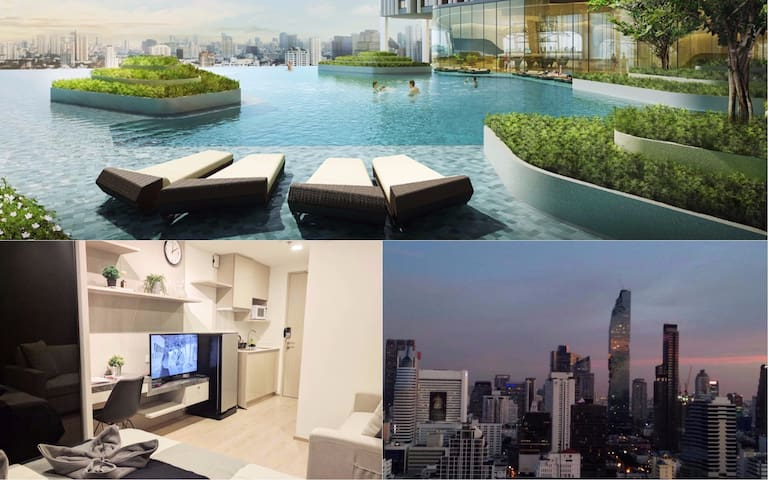 City Center Luxury, 32rd Floor, WiFi, Pool, Gym