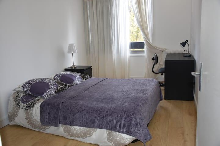 1 Chambre PRIVÉ dans appart 82 m2 VAL DE FONTENAY