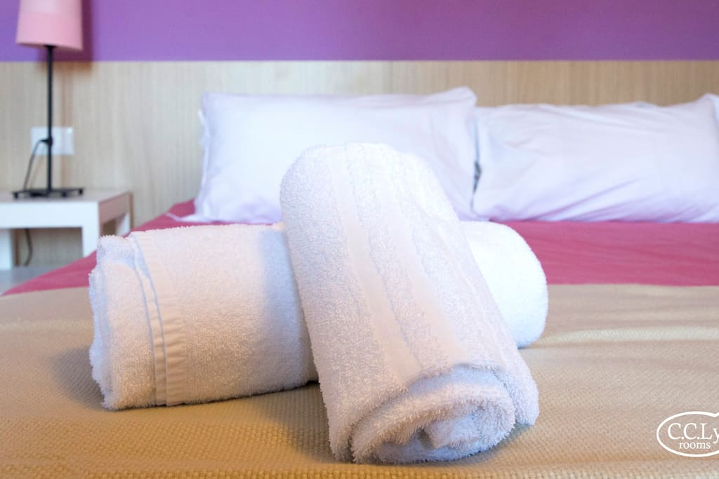 Double room with large bed. Camera Matrimoniale