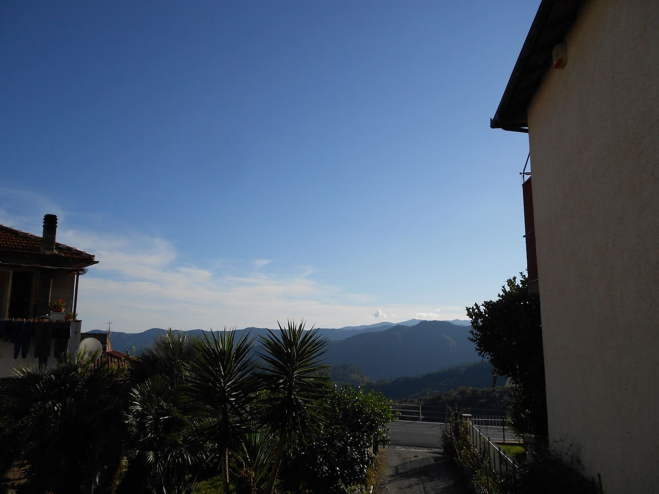 Panorama sulle colline