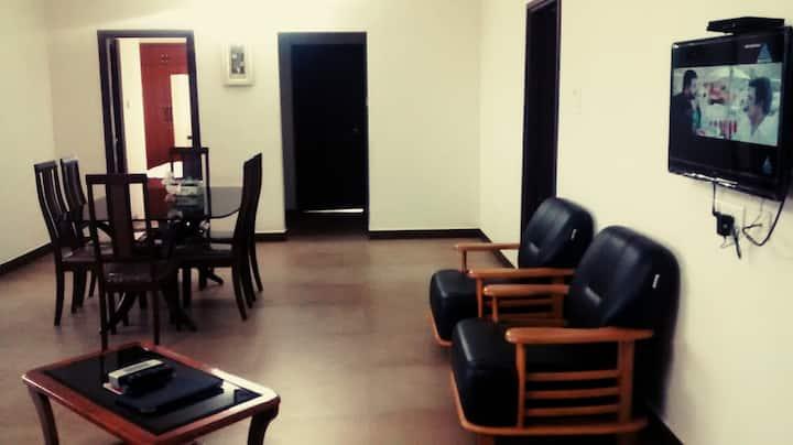 3BHK spacious & breezy 10th floor apartment