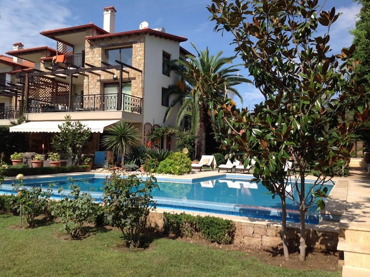 Sea view VILLA on the beach with swimming pool