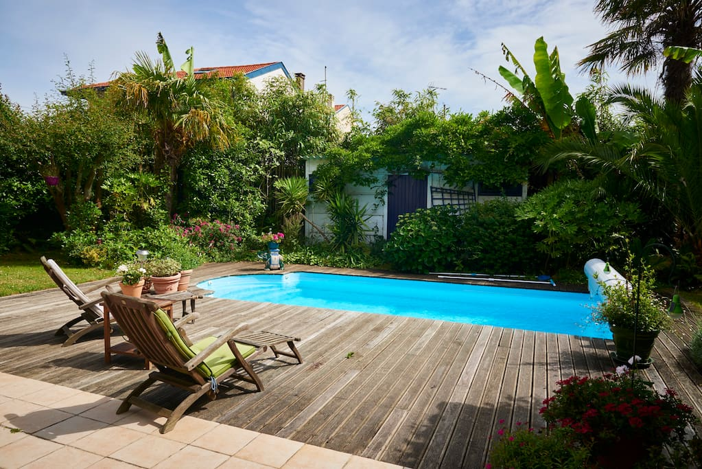 Charmante chambre biarritz piscine h user zur miete in for Piscine biarritz