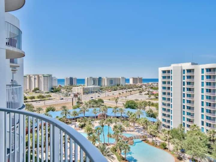NEW Stunning Gulf view 11th fl @ Palms of Destin
