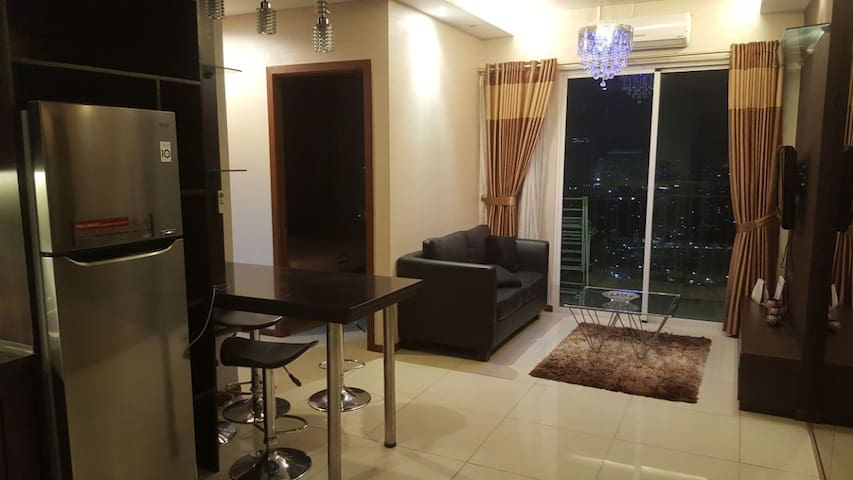 Best view!! 2Bedrooms Thamrin apartment,free WiFi