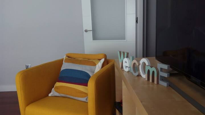 Modern & cozy apartment in the city centre.ParKing