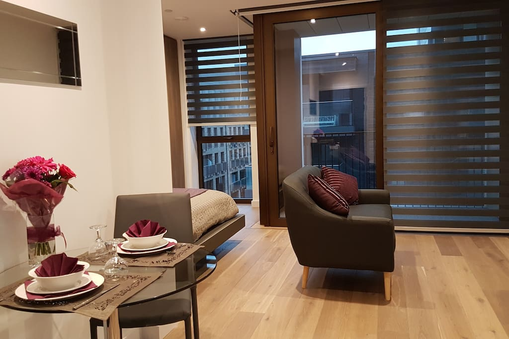 Luxury Studio Appartment Near O2 And Canary Wharf