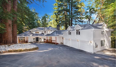 Stay Nestled in Ancient Redwoods in Silicon Valley