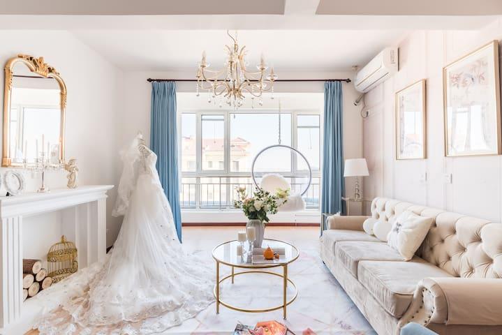【今天你要嫁给我】婚纱主题|网红两居|滨海生态城|航母|北塘古镇|方特世界