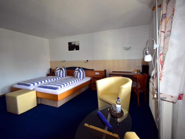 Doppelzimmer-Komfort im Hotel Garni Rank