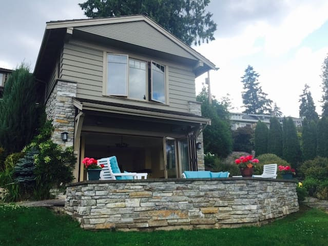 Water View Cottage in the Mercer Island,1BR - Mercer Island - Casa