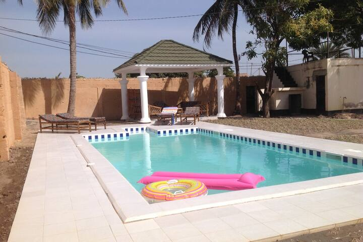 Gambian Retreat, a true retreat.