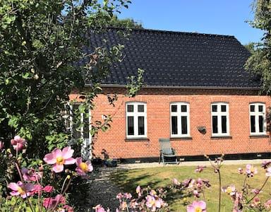 Eget hus på Bågø, 146 kvm i 2 plan, gårdhave, spa