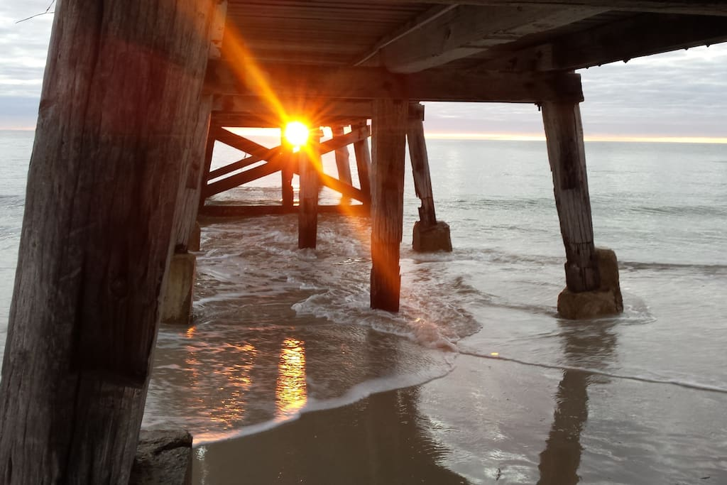Local Normanville Beach