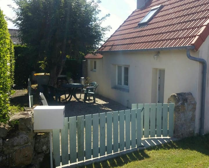 Charmante maison de pêcheur bretonne