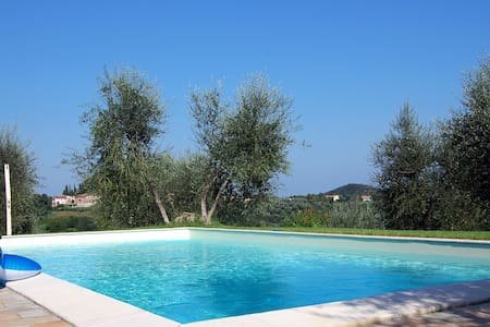 Il Camino - flat on olive farm with pool - Palaia