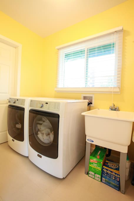 All New Laundry room