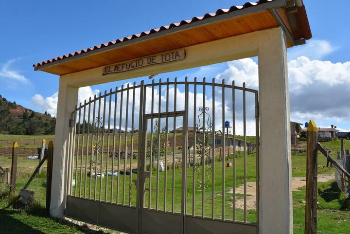Refugio de Tota - Casa de campo