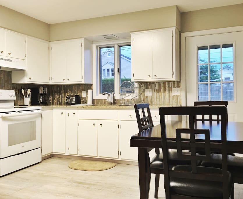 Newley remodeled kitchen with all the comforts of home.